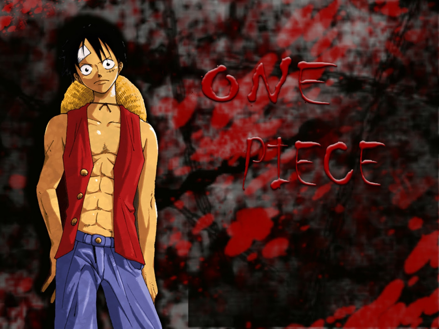 Wallpaper Pemandangan Wallpaper E Piece Luffy 3d