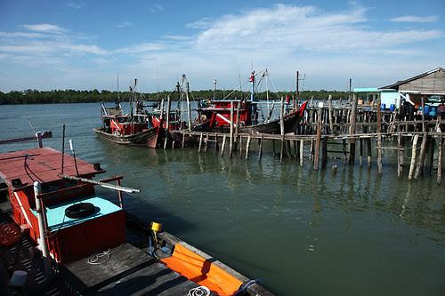 IMG_0546-w Pulau Ketam Fishing Boats