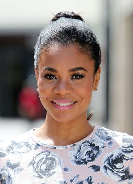 Nosee Rosee Spotted Regina Hall Filming For Extra