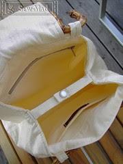 Ginko Bag opened