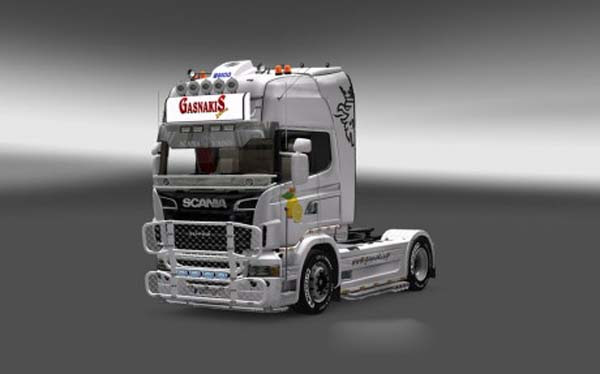 Scania Gasnakis Lightbox