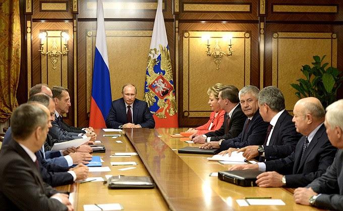 Совещание спостоянными членами Совета Безопасности