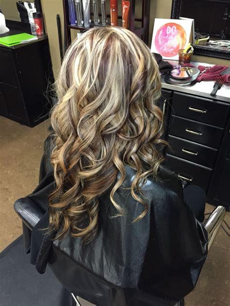 blonde  auburn lowlights hair styles pinterest hair