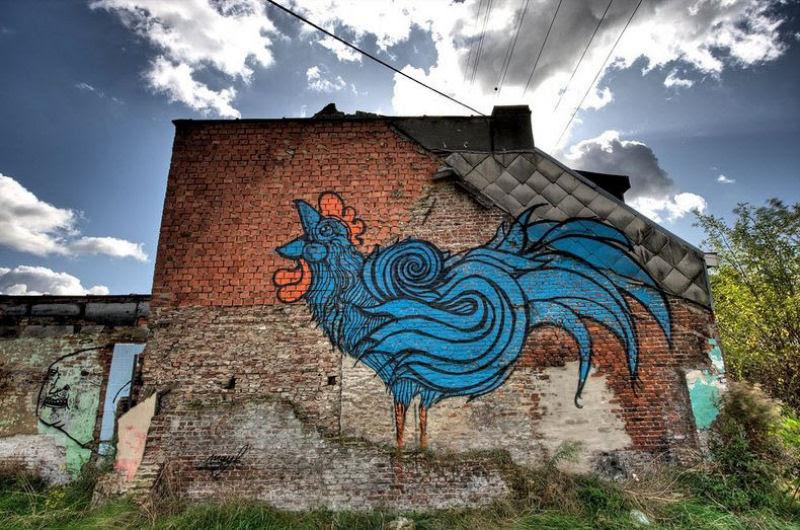 A vila condenada de Doel e sua arte de rua surpreendente 07