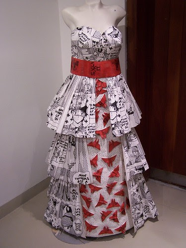 Oriental Wallpaper Dress 2010