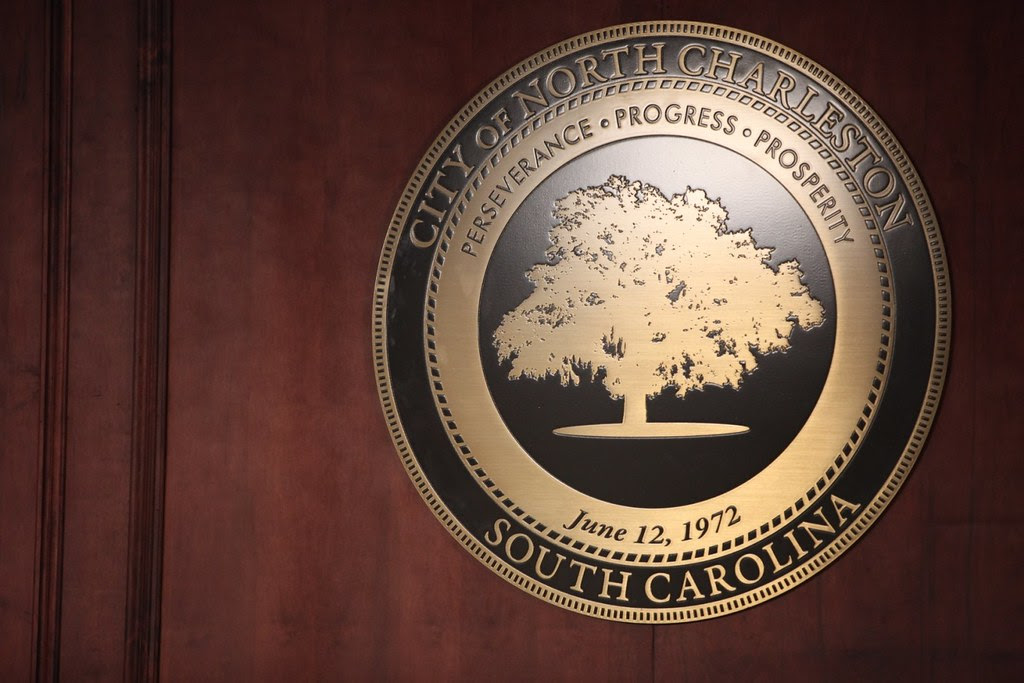 City Seal in Council Chambers
