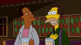 Carl (a sinistra) insieme a Lenny