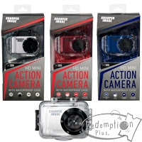 Redemption Plus Sharper Image Action Cam With Hd Digital Video