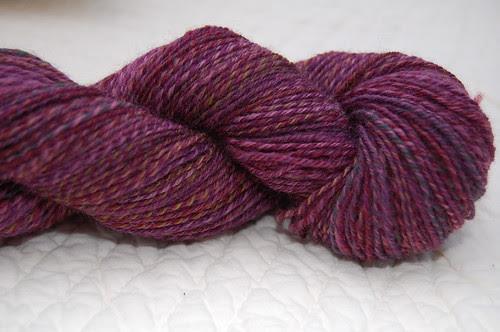Forbidden Fruit 3-ply merino sock