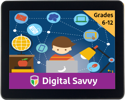 Digital Savvy is the perfect introductory course for students new to computers, computer science and technology!