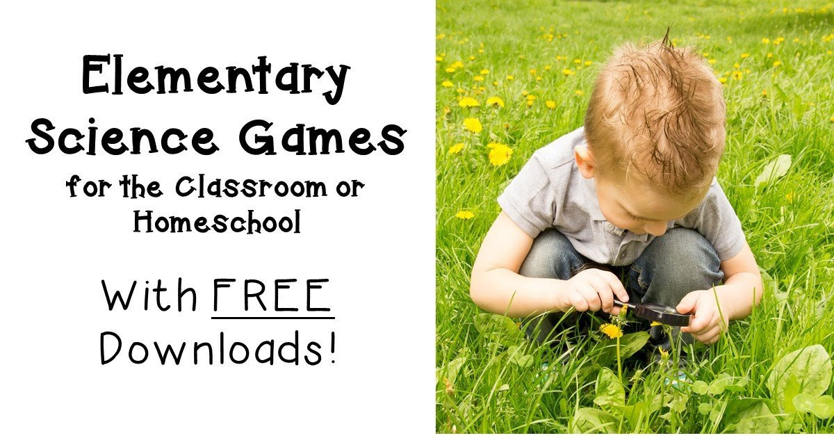 Elementary Science Games for the Classroom OR Homeschool - Hojo's Teaching Adventures