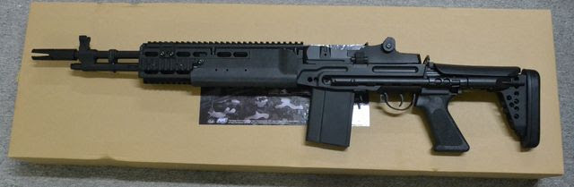 ASP Metal MK14 EBR Mod 0 Enhanced Battle Rifle AEG (Black)