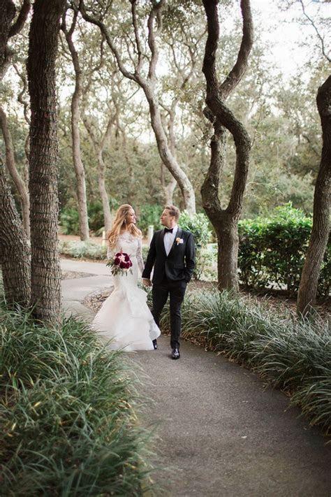 Elegant Purple and Red Amelia Island Wedding   Every Last