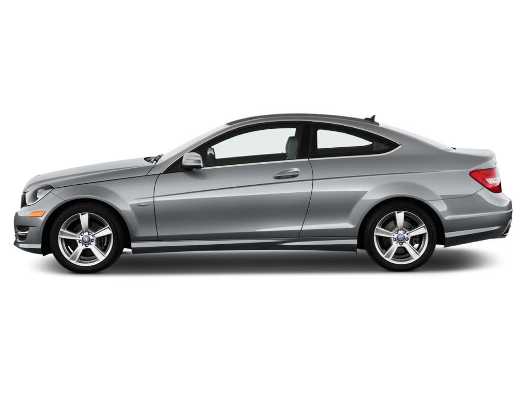 Image: 2013 Mercedes-Benz C Class 2-door Coupe C250 RWD Side Exterior View, size: 1024 x 768 ...