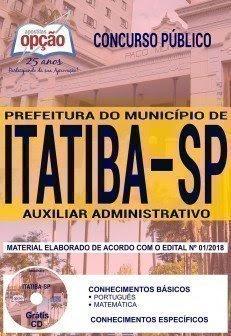 Apostila Concurso Município de Itatiba 2018 | AUXILIAR ADMINISTRATIVO