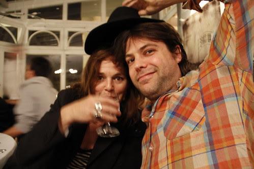 Virgil the French filmmaker and my tutor Marietta
