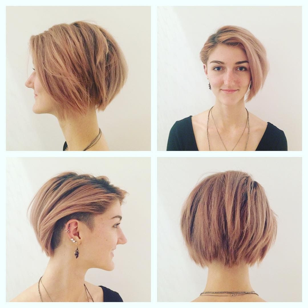 40 Hottest Short Hairstyles Short Haircuts 2018 Bobs Pixie Cool