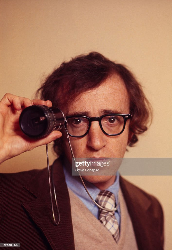 Woody Allen on the set of Everything You Wanted to Know About Sex But Were Afraid to Ask.