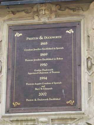 Ipswich Historic Lettering: Tavern Street