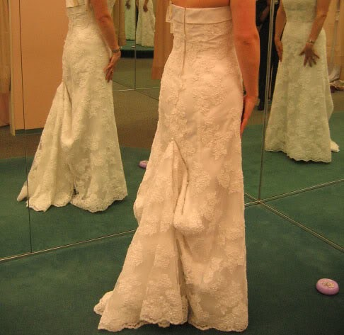 What is a bridal bustle love couture bridal for What does couture mean in french