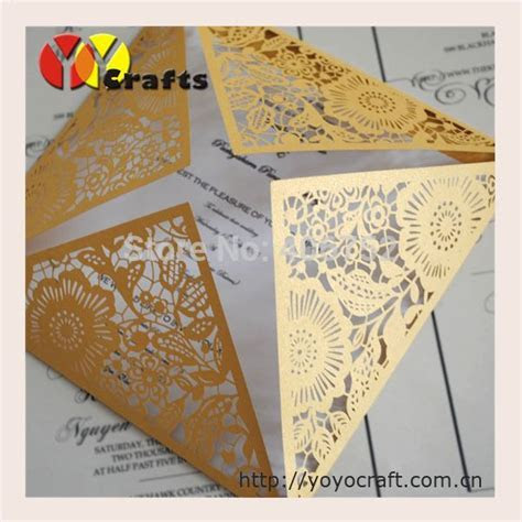 2015 Free shipping hot elegant wedding decoration laser