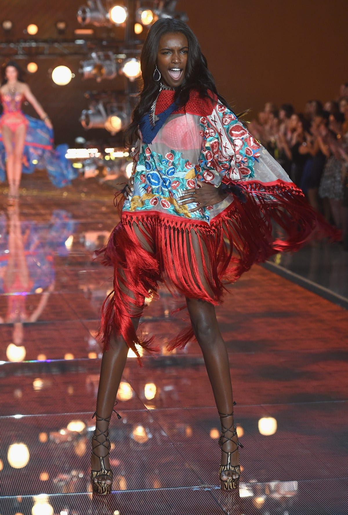 Leomie Anderson rocked the runway.