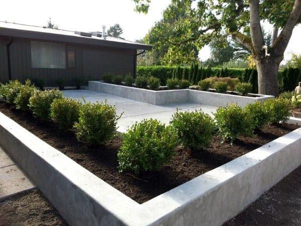 60 Concrete Patio Ideas Unique Backyard Retreats