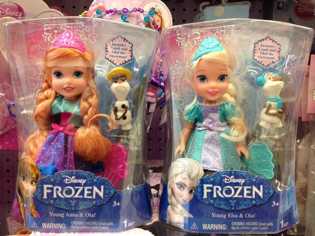 Anna And Elsa Anak Patung Frozen Foto Fanpop