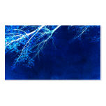 pretty blue nature art business card template