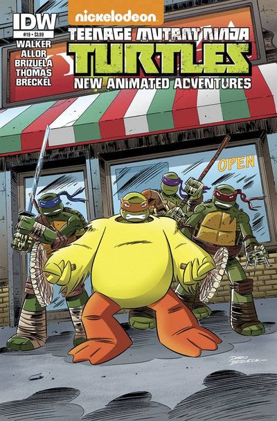 Teenage Mutant Ninja Turtles New Animated Adventures #19