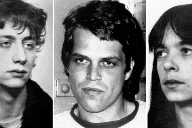 Burkhard Garweg (à gauche), Ernst-Volker Wilhem Staub et Daniela Klette, à une date non déterminée.