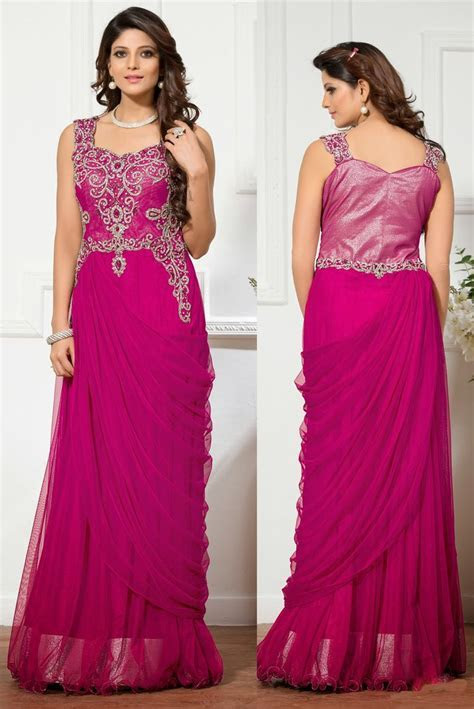 Buy Gowns Online Embroidered Gowns Party Wear Gown Indian