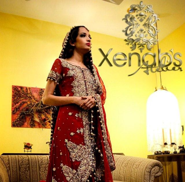 R Sheen Wedding Dresses Prices : R sheen beautiful pakistani bridal dresses collection