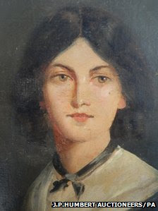 Portrait believed to be of Emily Bronte