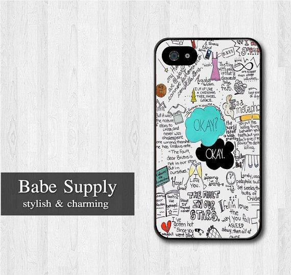 If your book nerd loved The Fault In Our Stars and has an iPhone 4 or 4s, then she needs this case by BabeSupply, $8.99