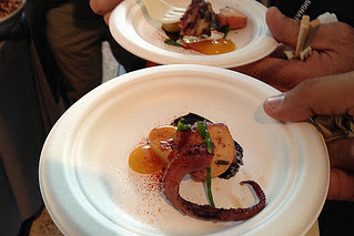 SF Chefs 2013 - Poached Octopus by Salt House