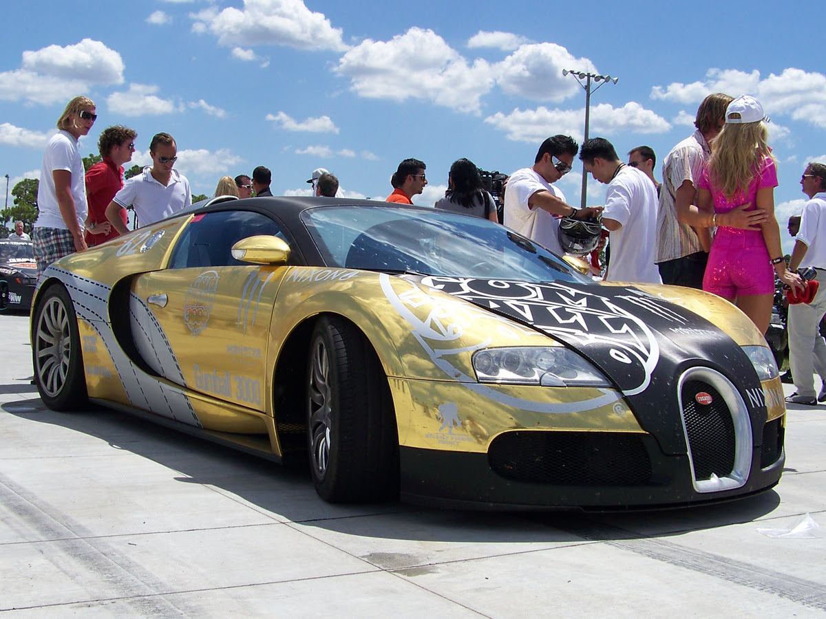 Gears Hd Supercars Bugatti Veyron Covered In Gold Edition At