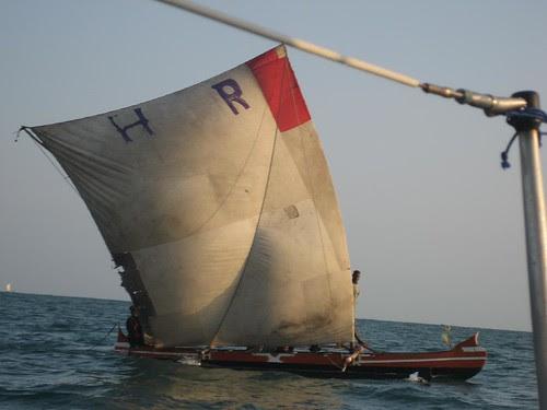 canoe on the wind Belo sur Mer