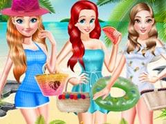 بدلة سباحة شاطئ أميرات ديزني