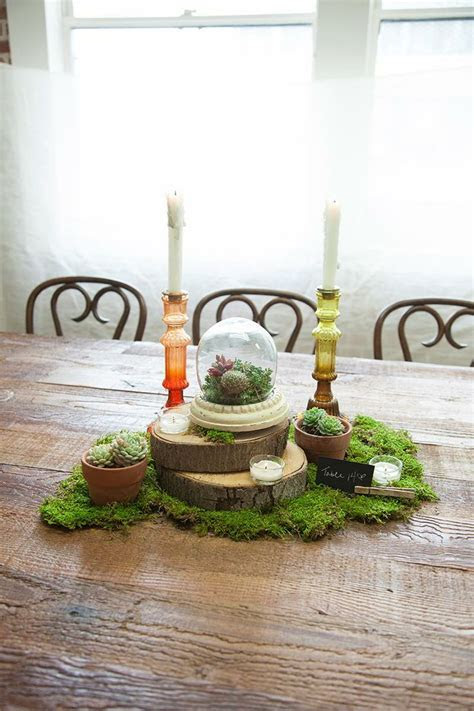 17  best ideas about Moss Centerpiece Wedding on Pinterest
