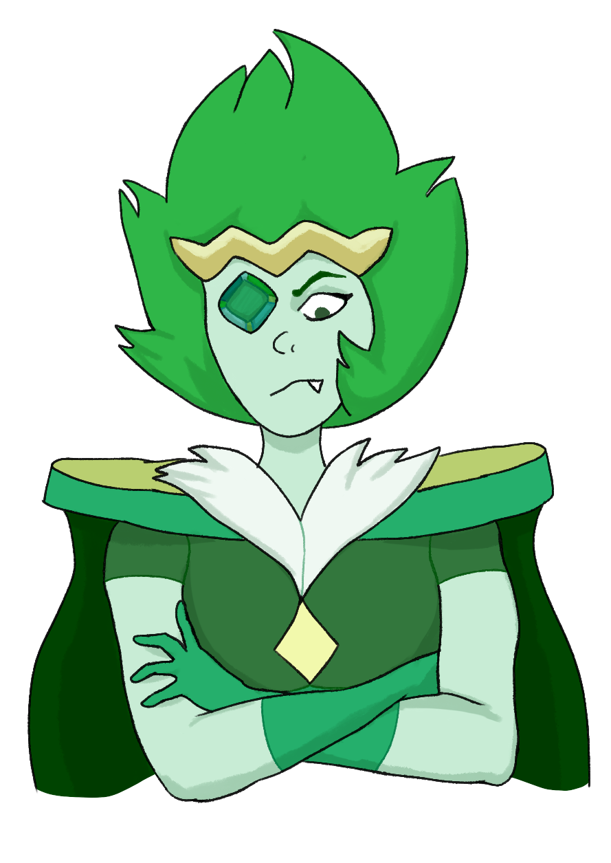 So Emerald is fun to draw