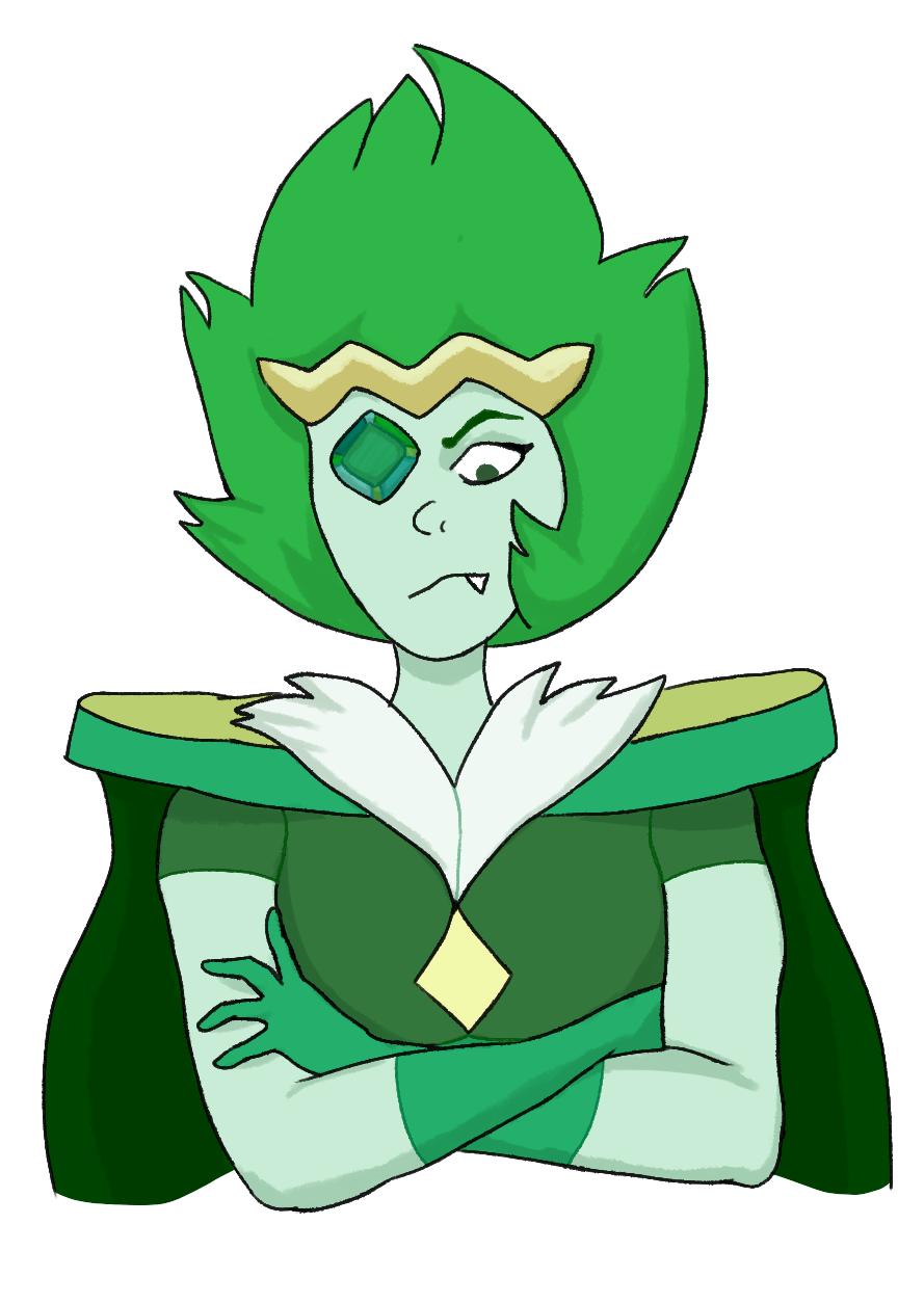 So Emerald is fun to draw