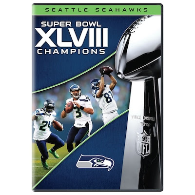 Super Bowl XLVIII Champions Collectible DVD  Seahawks Pro Shop