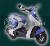 Honda unveils Fuel efficient green scooters
