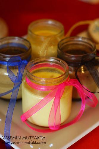 Limonlu ve Kahveli Krem Karamel
