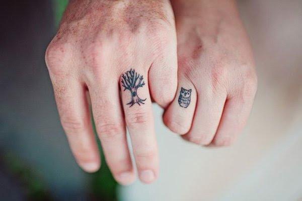 Tatuajes Que Indirectamente Se Complementan Y Forman La Pareja