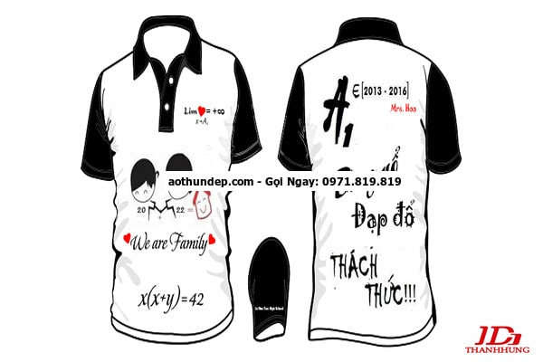 áo lớp 3d