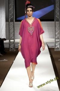 Latest Party Wears Dresses By Rizwana At PFW UK 2011 2 style.pk