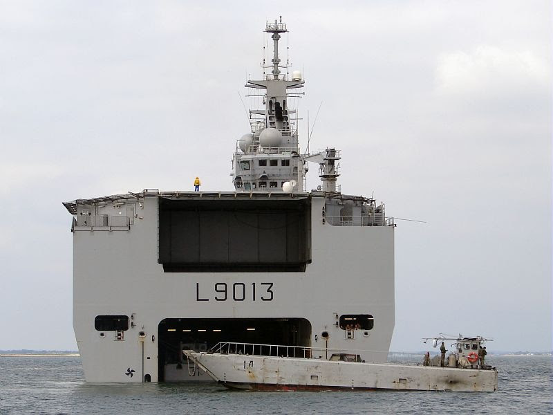Alihocrez Mistral Class Helicopter Carriers