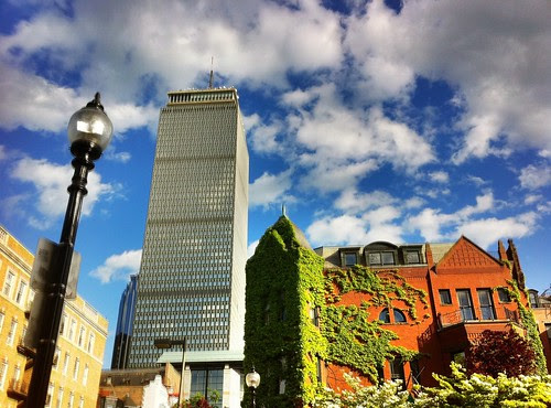 The Pru from Newbury Street by stevegarfield